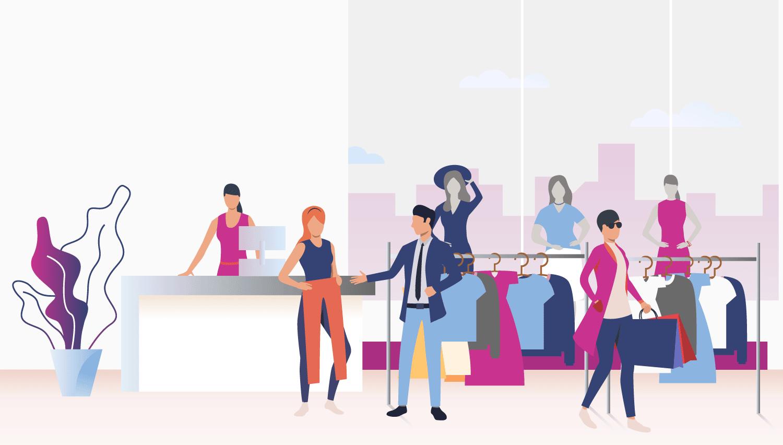 retail scene
